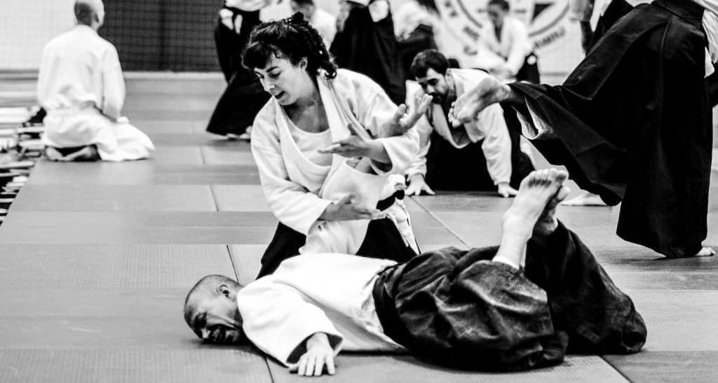 Immobilisation d'Aikido