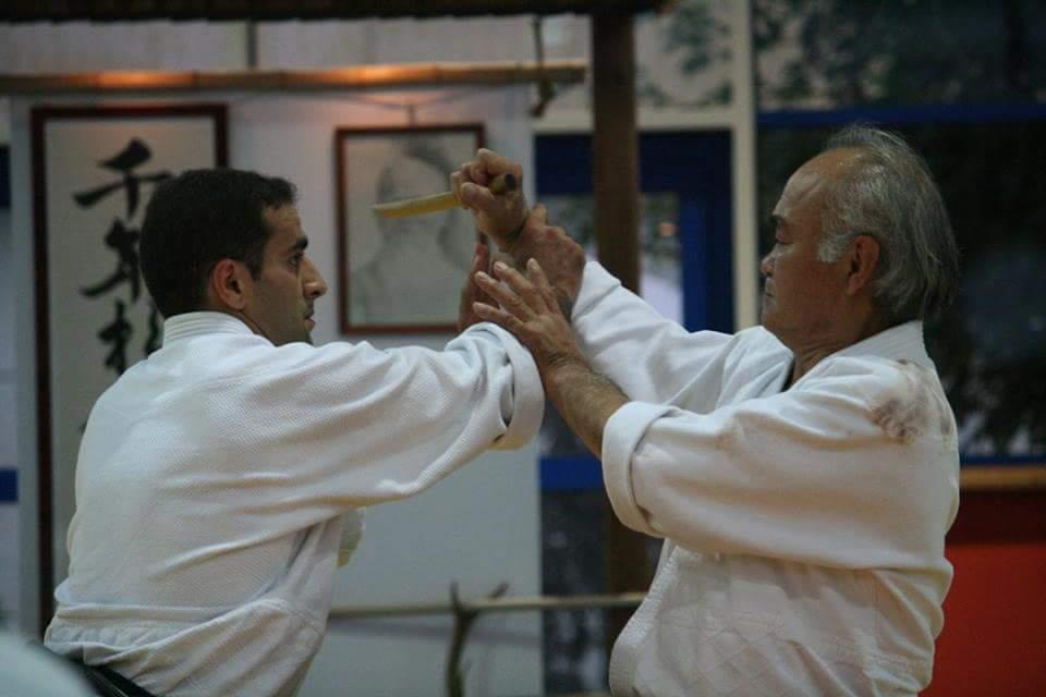 Chiba sensei et Sadek Khettab