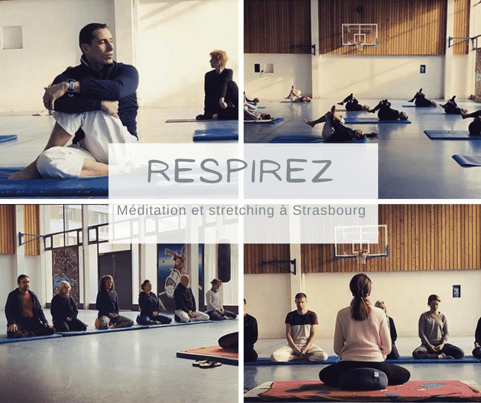 Méditation et stretching à Strasbourg